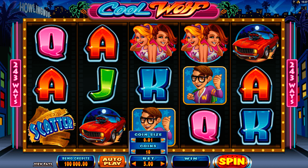 cool wolf microgaming casinospil online