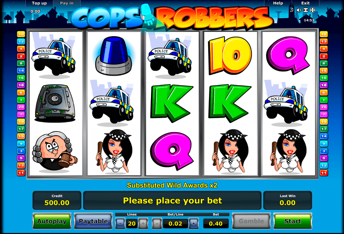 cops n robbers novomatic casinospil online
