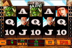 cowboys and aliens playtech casinospil online