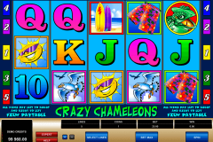 crazy chameleons microgaming casinospil online