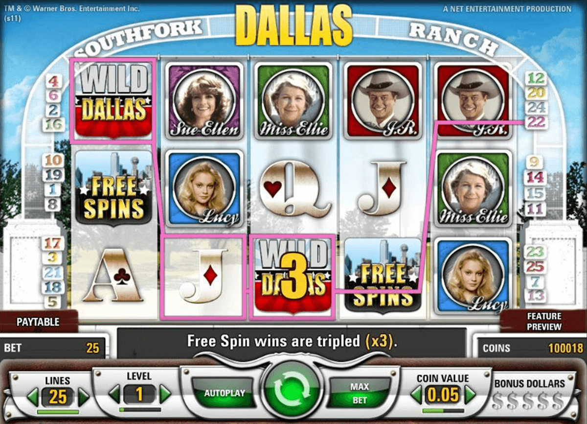 dallas netent casinospil online