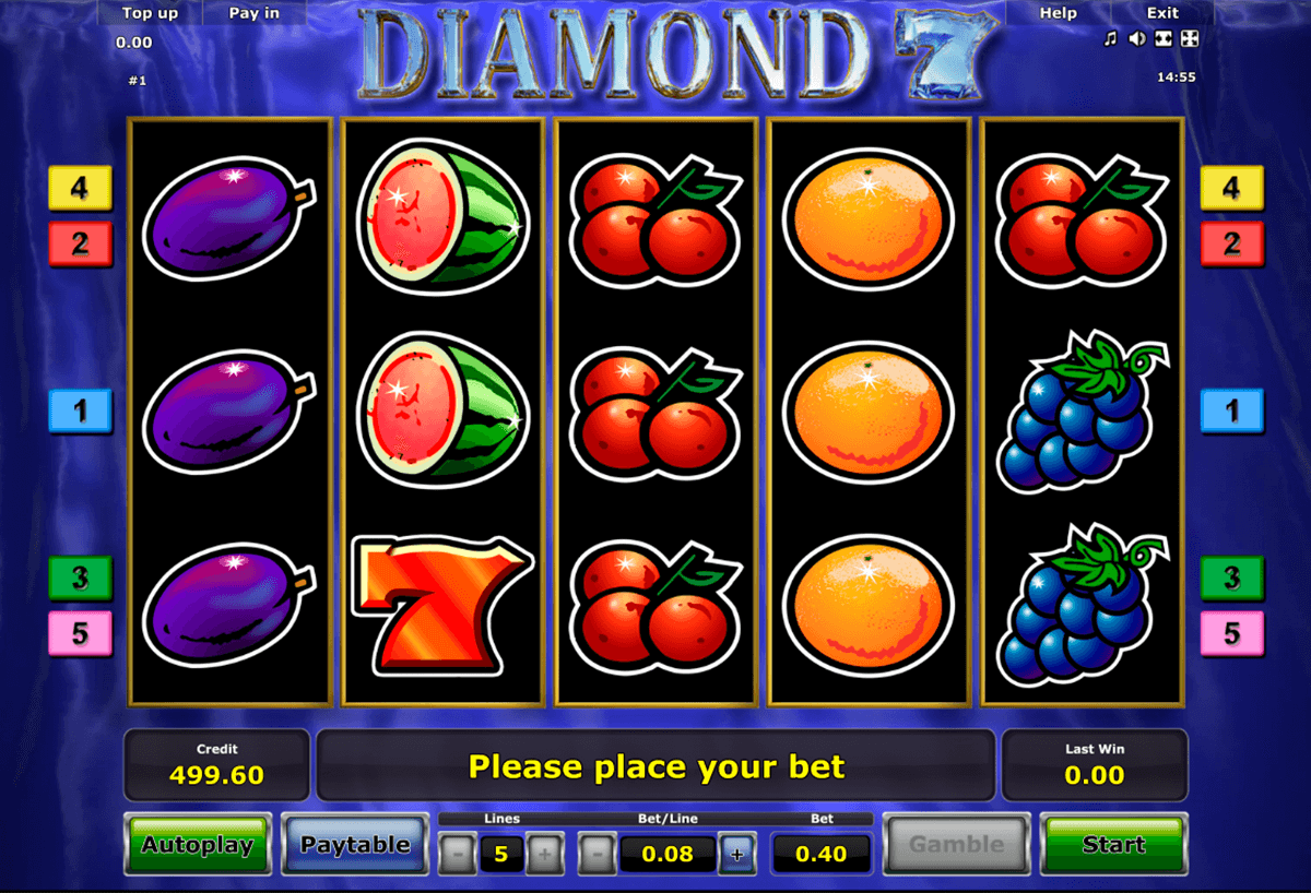 diamond 7 novomatic casinospil online