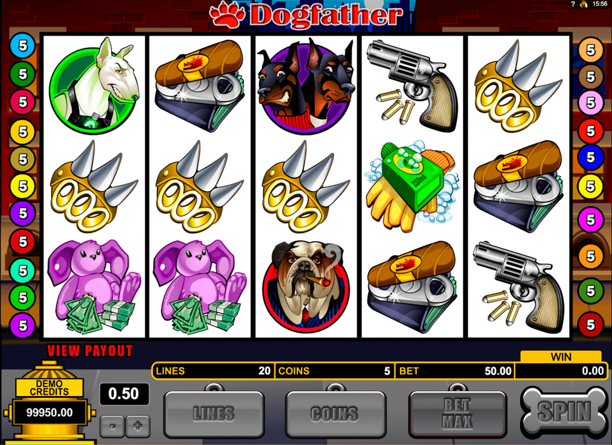 dogfather microgaming casinospil online