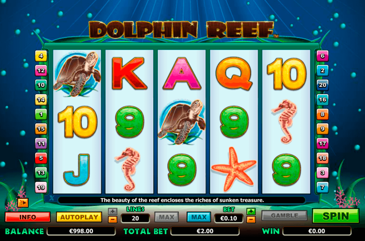 dolphin reef nextgen gaming casinospil online