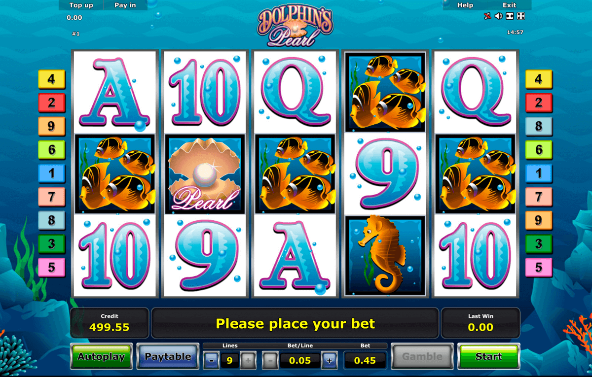 dolphins pearl novomatic casinospil online