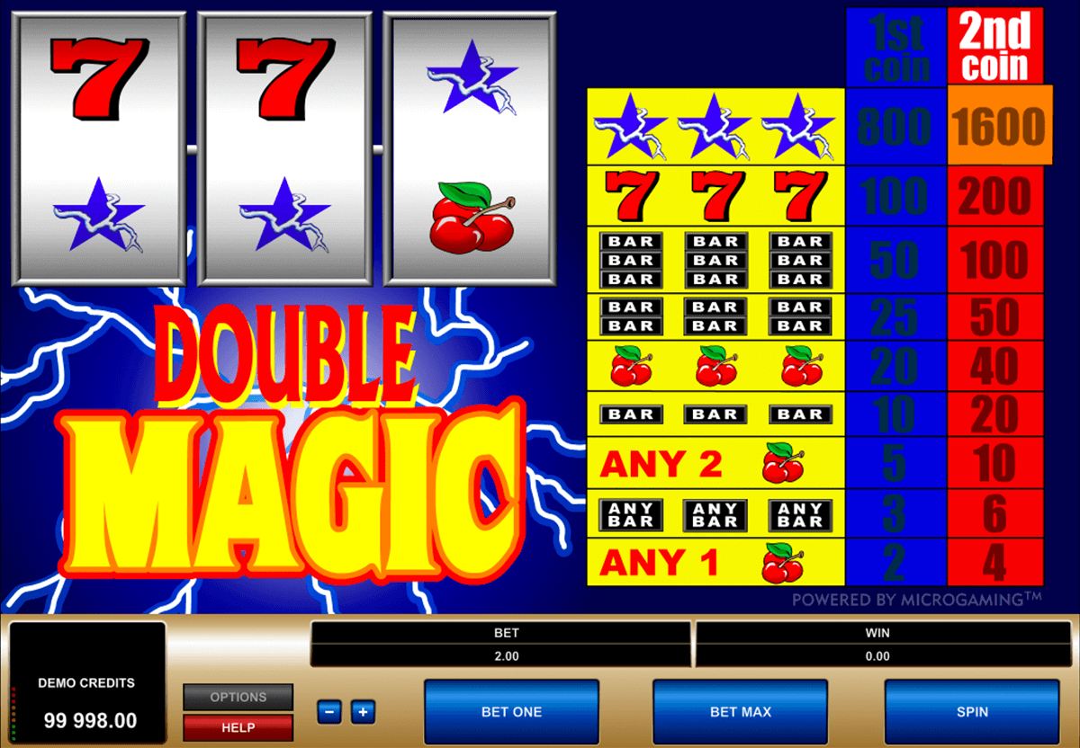 double magic microgaming casinospil online