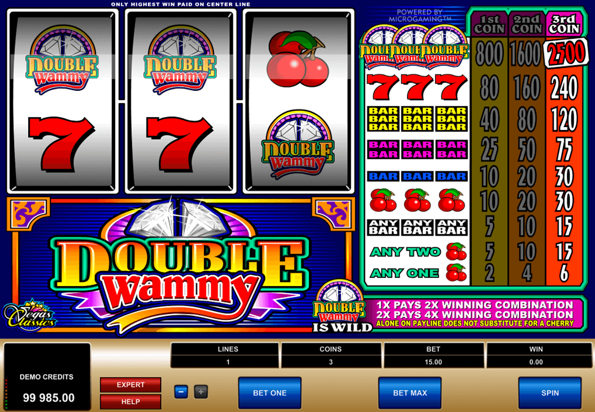 double wammy microgaming casinospil online