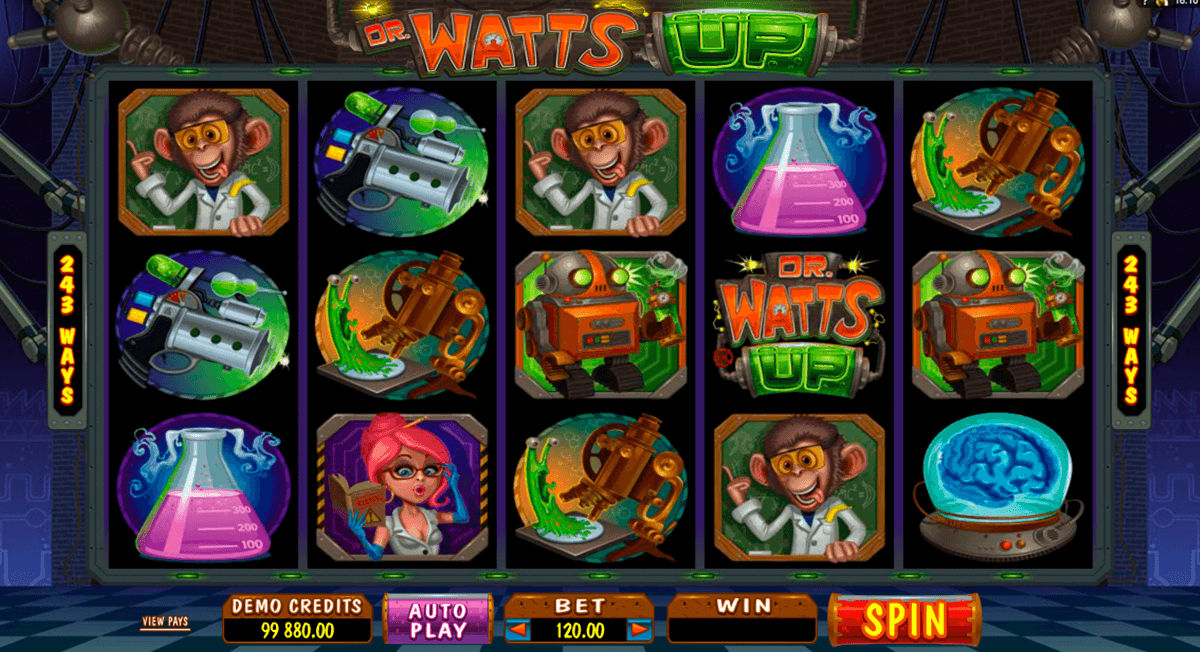 dr watts up microgaming casinospil online