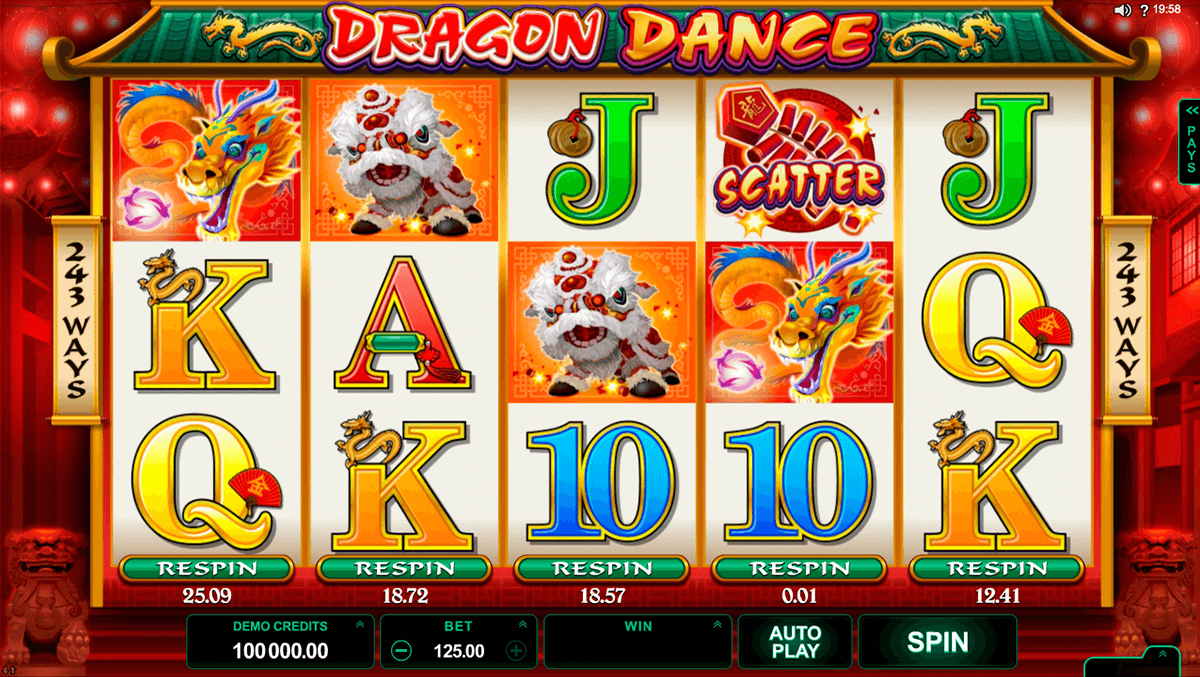 dragon dance microgaming casinospil online