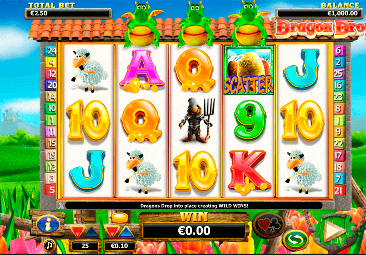 dragon drop nextgen gaming casinospil online