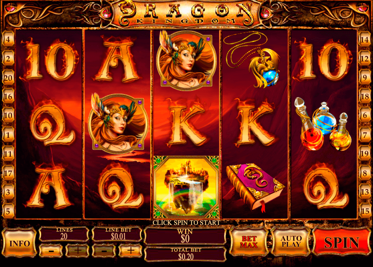 dragon kingdom playtech casinospil online