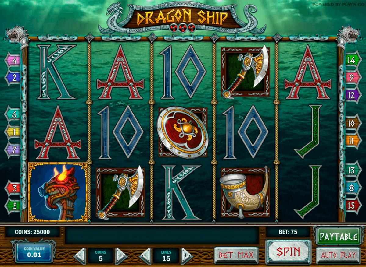 dragon ship playn go casinospil online