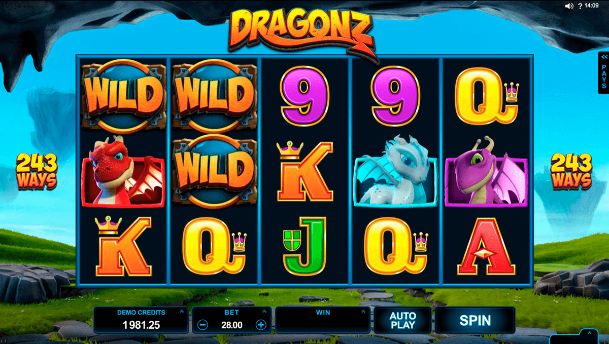 dragonz microgaming casinospil online