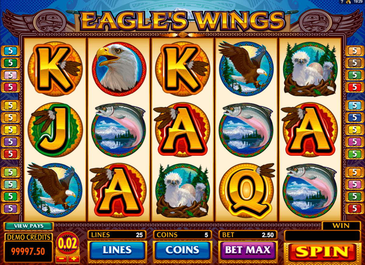 eagles wings microgaming casinospil online