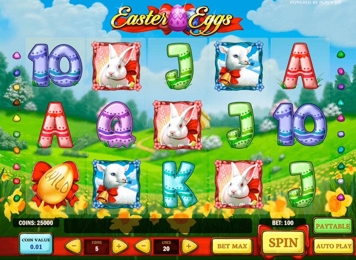 easter eggs playn go casinospil online