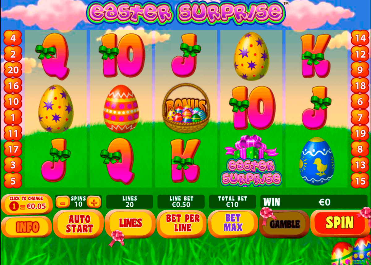 easter surprise playtech casinospil online