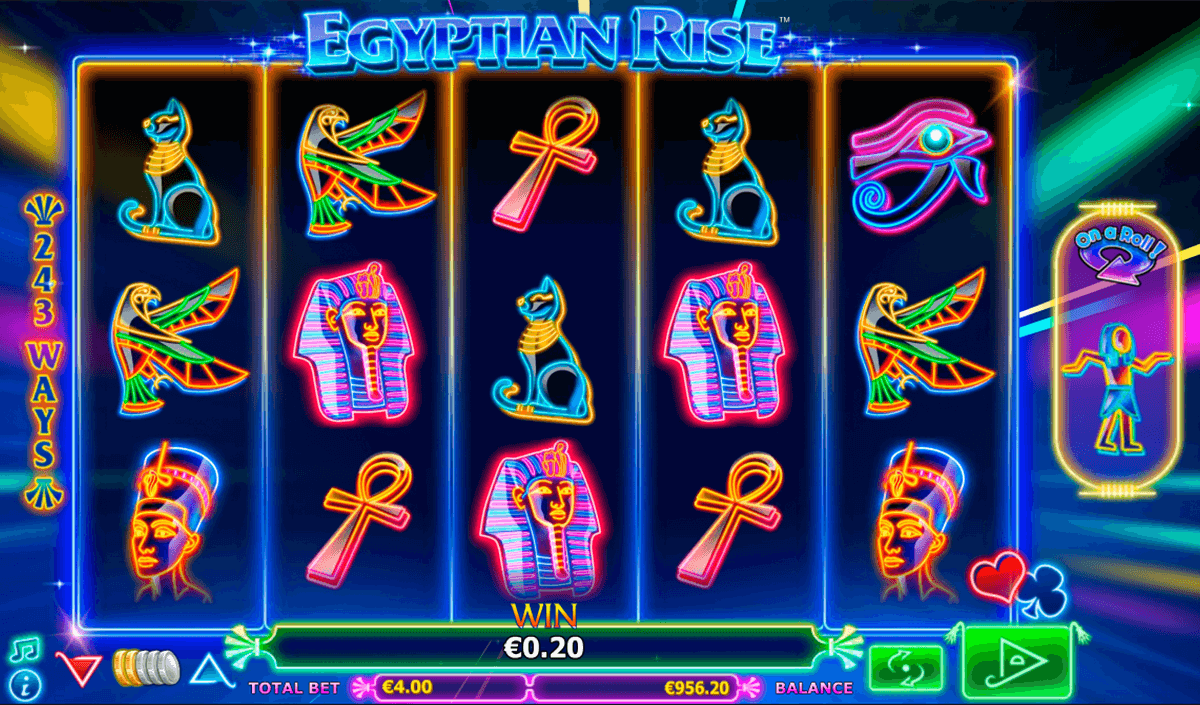 egyptian rise nextgen gaming casinospil online