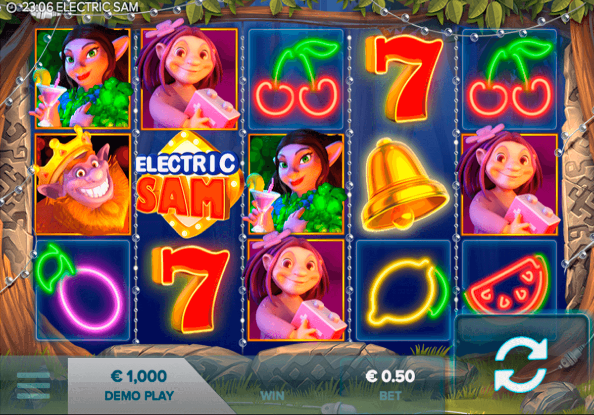 electric sam elk casinospil online