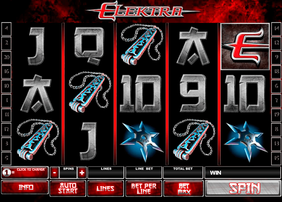 elektra playtech casinospil online