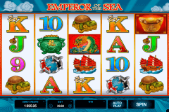 emperor of the sea microgaming casinospil online