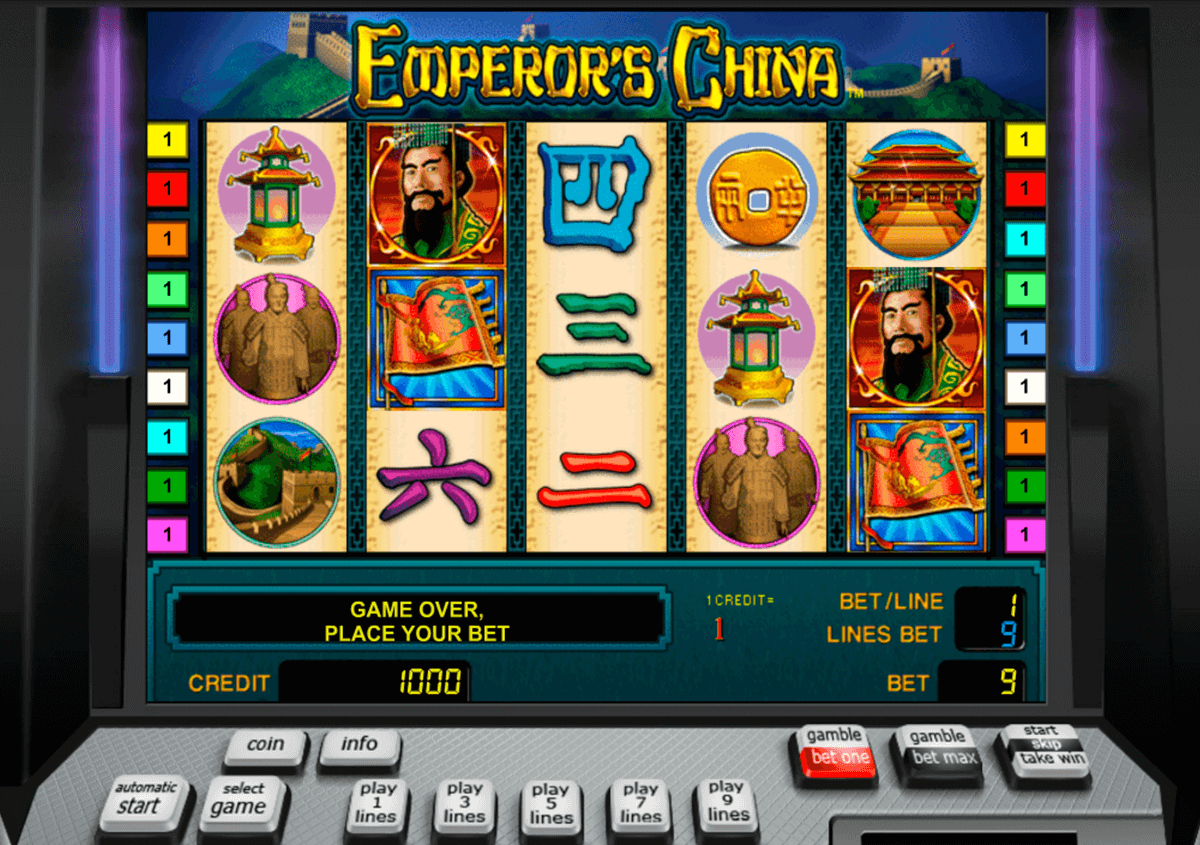emperors china novomatic casinospil online