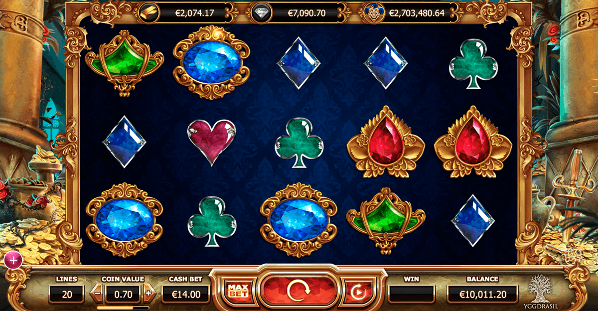 empire fortune yggdrasil casinospil online