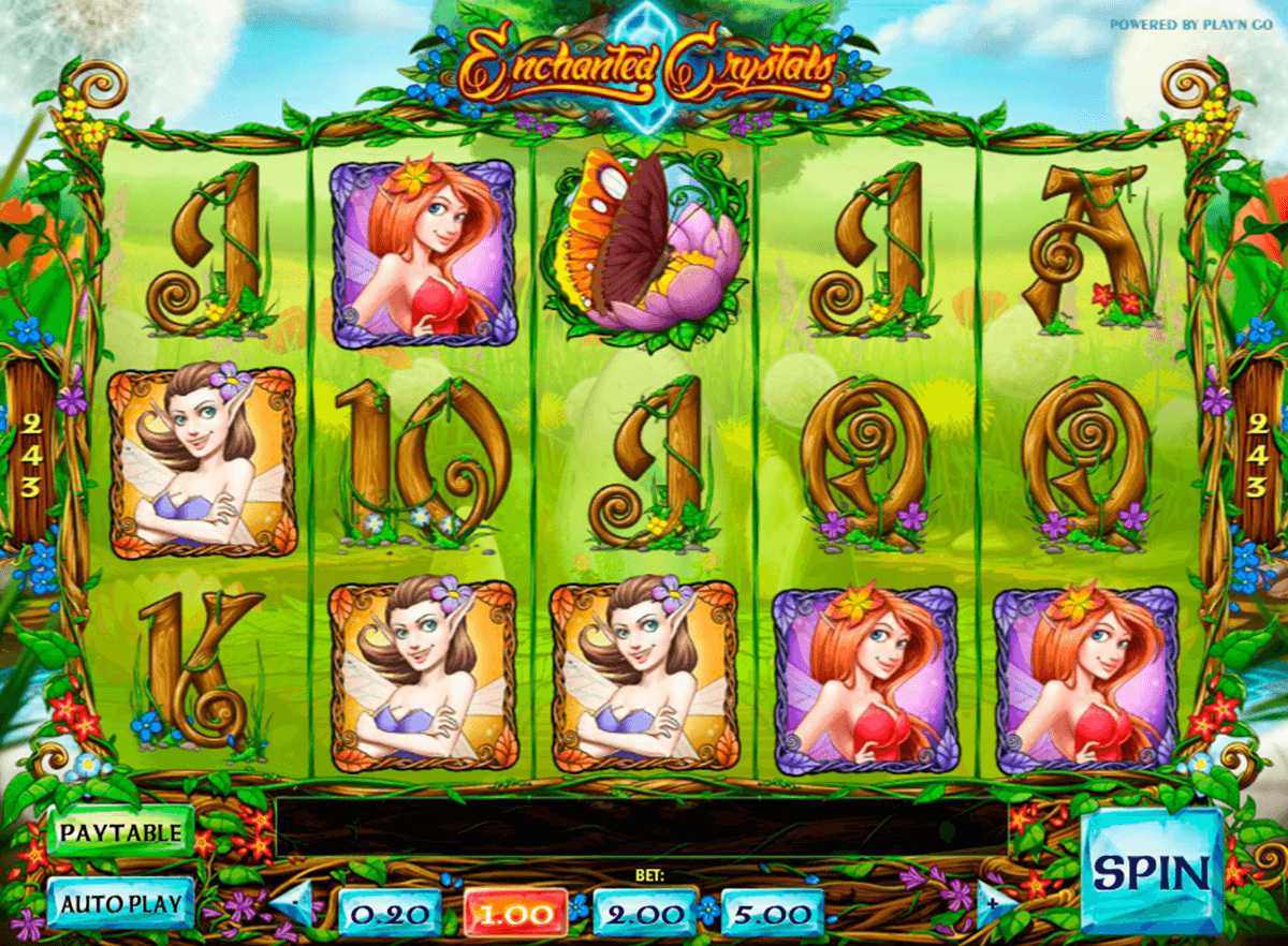 enchanted crystals playn go casinospil online