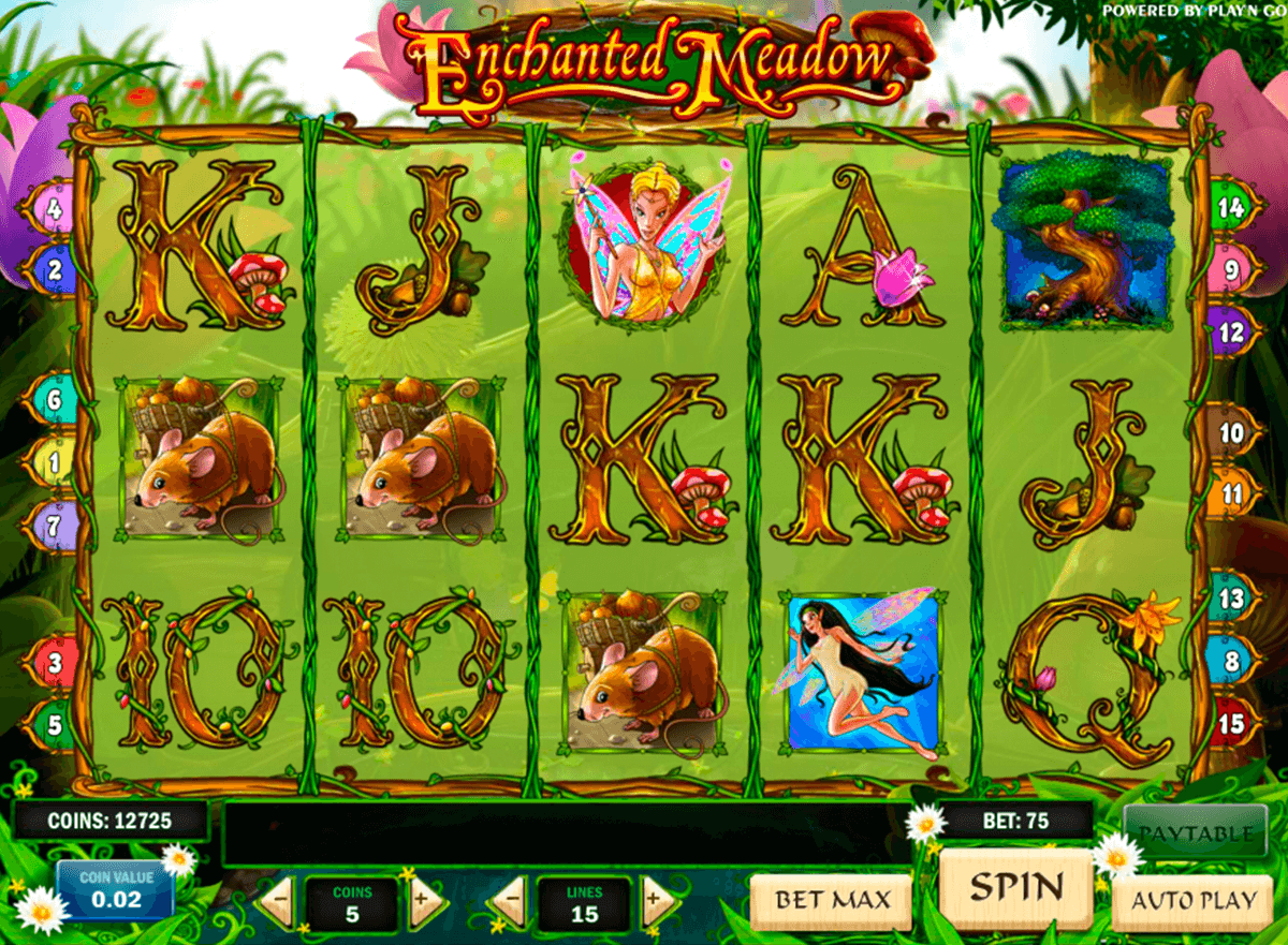 enchanted meadow playn go casinospil online