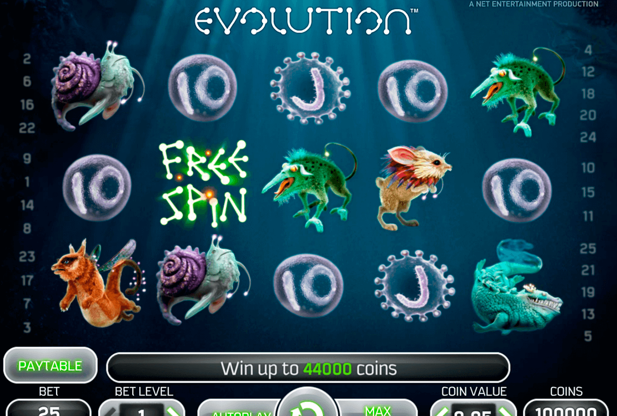 evolution netent casinospil online