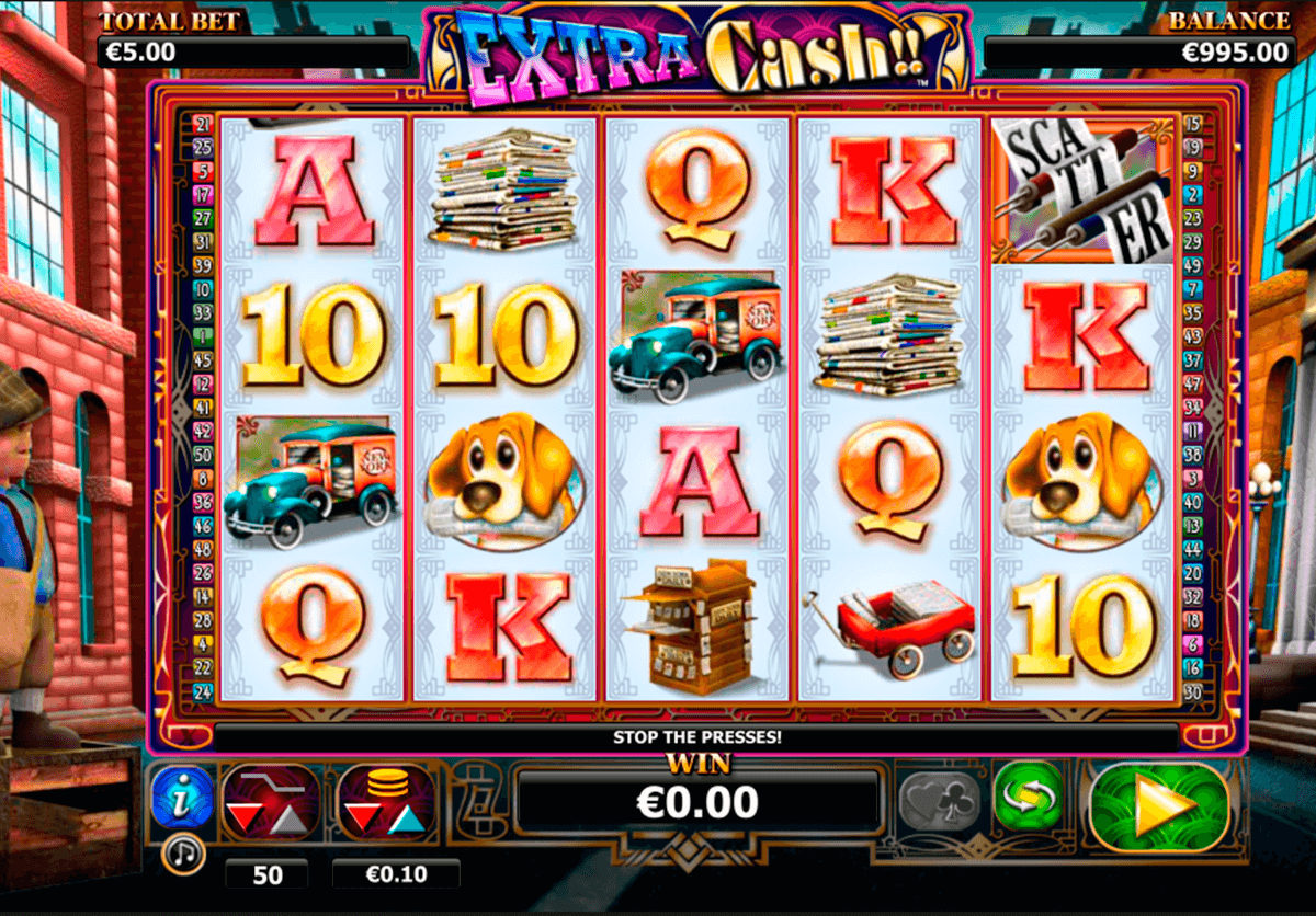 extra cash nextgen gaming casinospil online