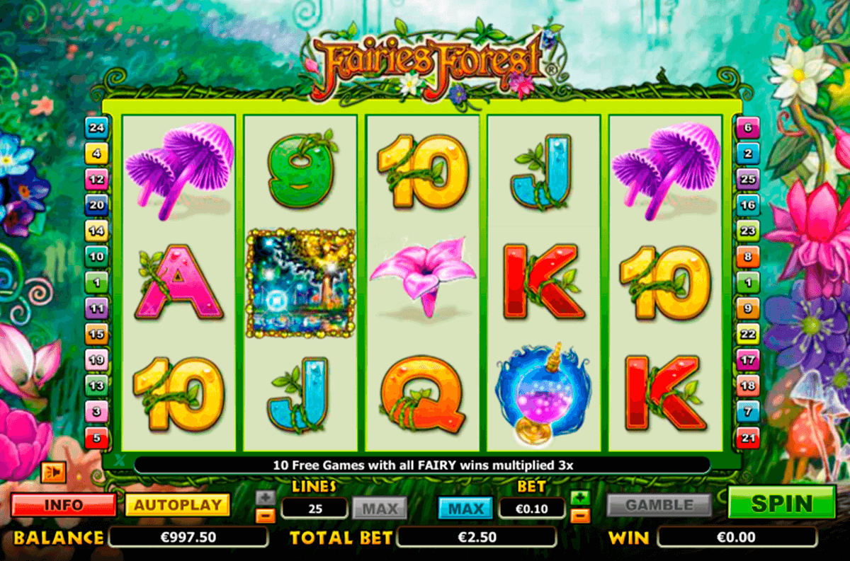 fairies forest nextgen gaming casinospil online