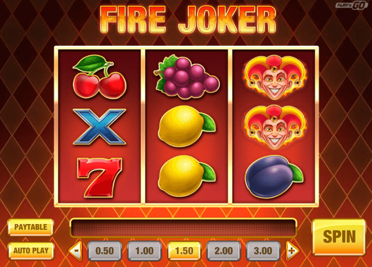 fire joker playn go casinospil online