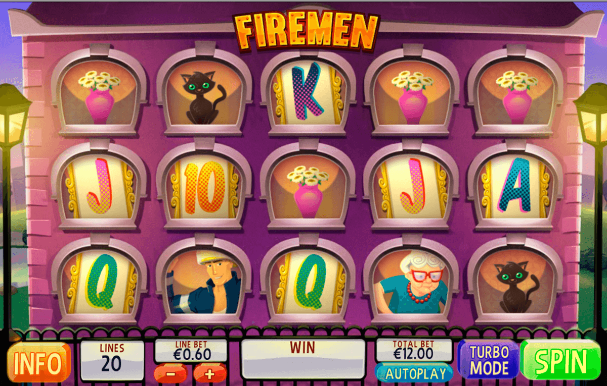 firemen playtech casinospil online