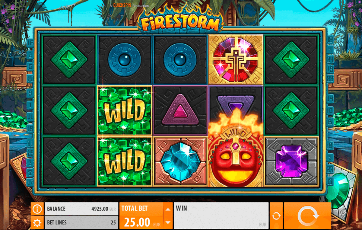 firestorm quickspin casinospil online