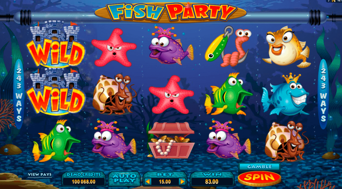 fish party microgaming casinospil online