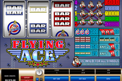 flying ace microgaming casinospil online