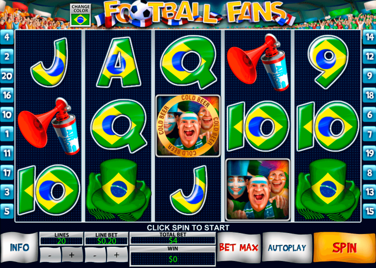 football fans playtech casinospil online
