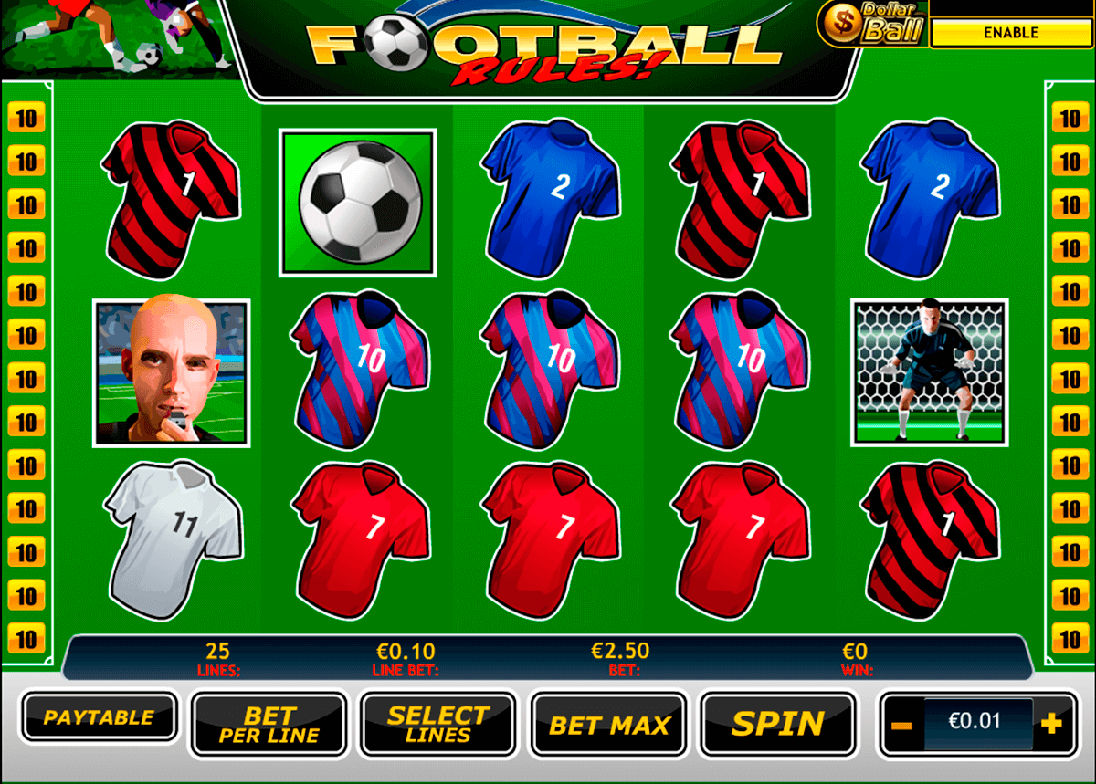 football rules playtech casinospil online