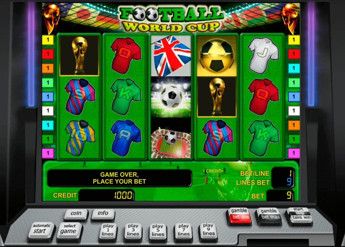 football world cup novomatic casinospil online