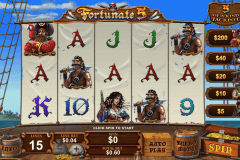 fortunate five playtech casinospil online