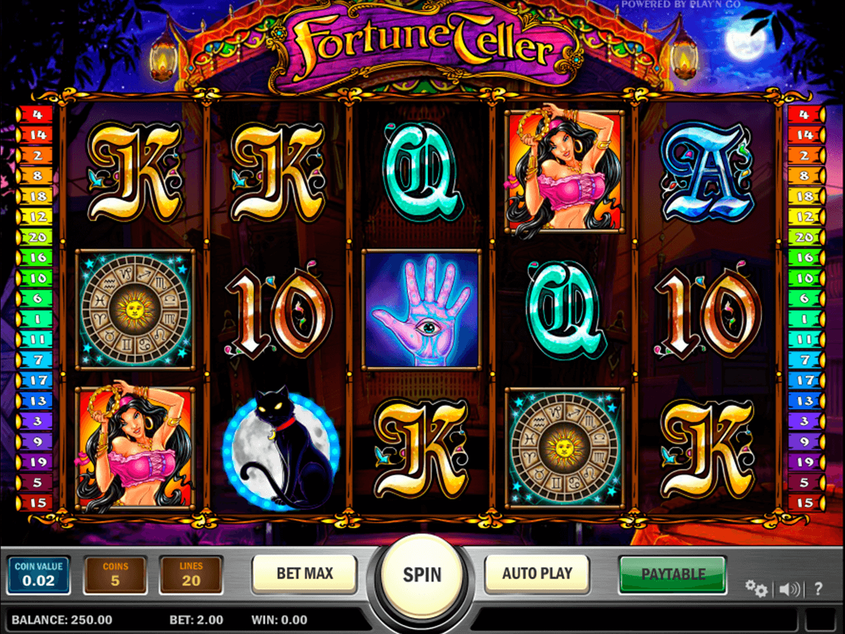 fortune teller playn go casinospil online