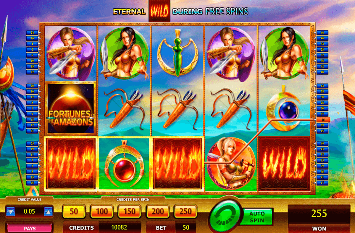 fortunes of the amazons nextgen gaming casinospil online