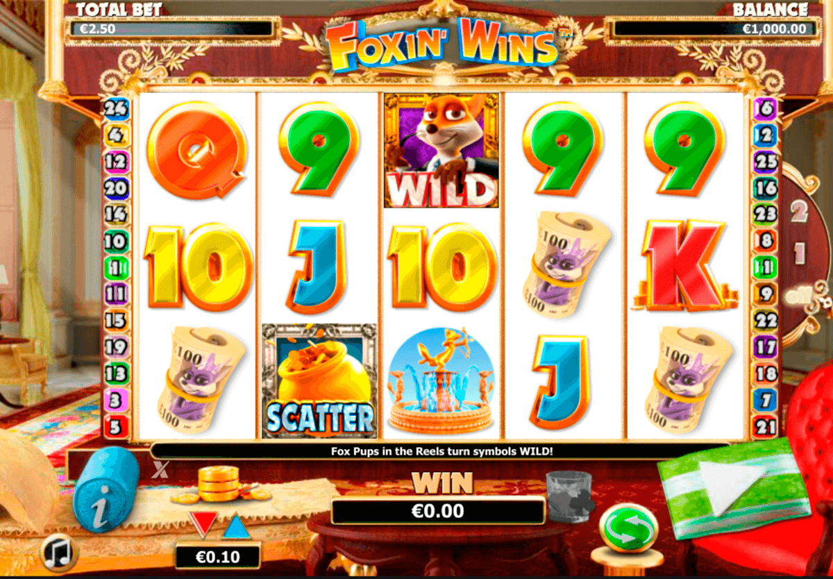 foxin wins nextgen gaming casinospil online