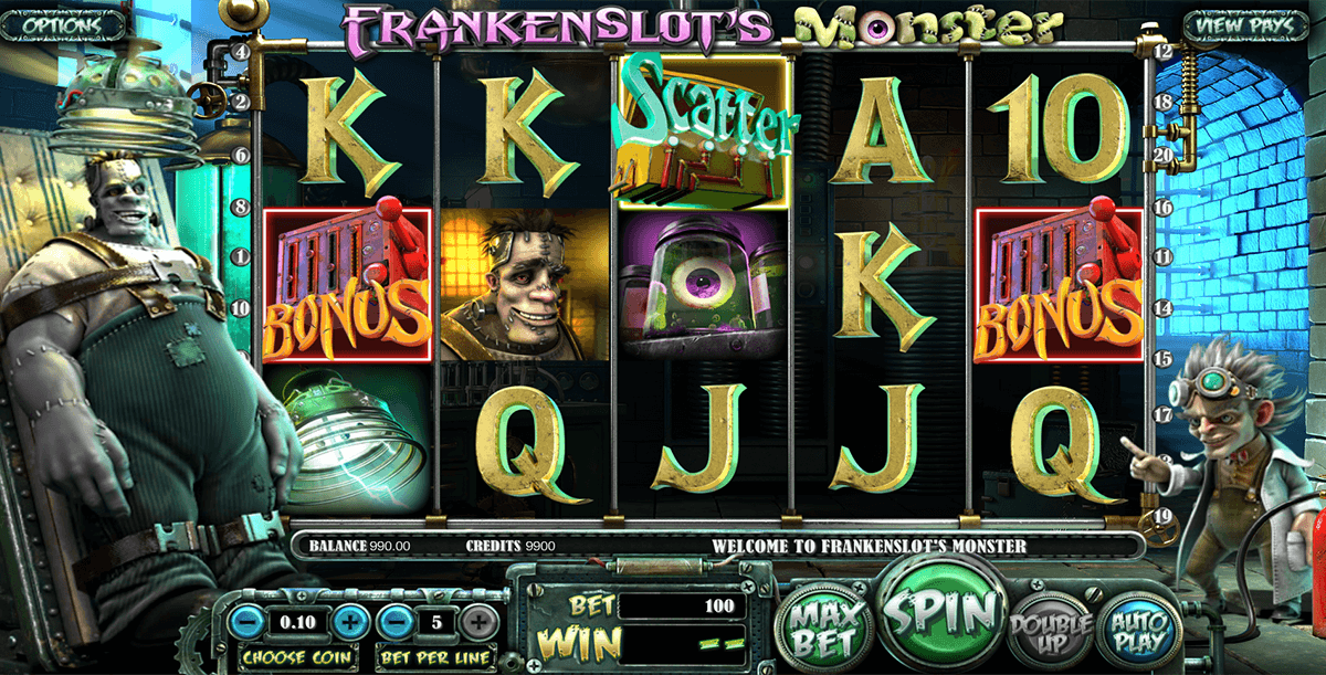 frankenslots monster betsoft casinospil online