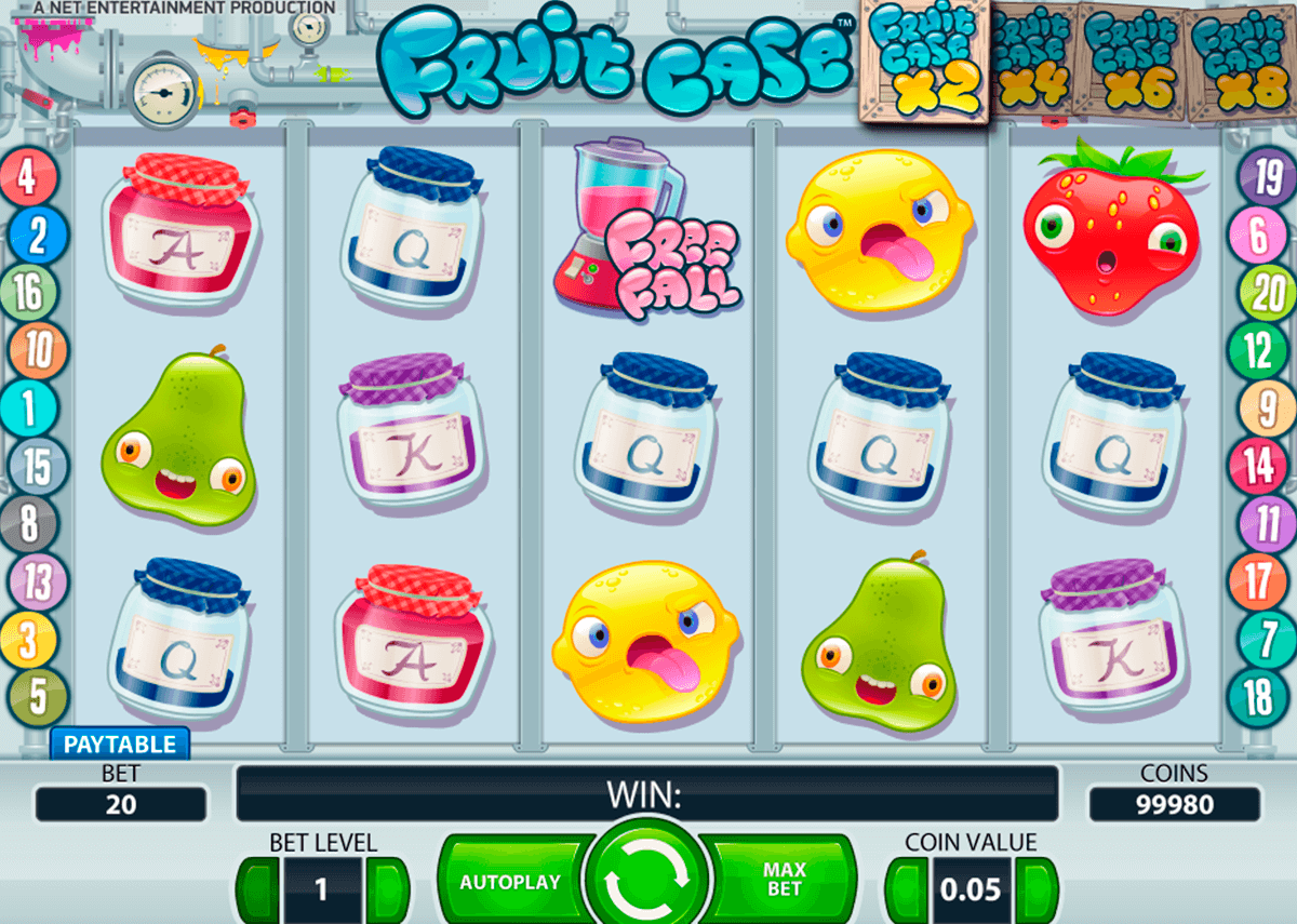 fruit case netent casinospil online
