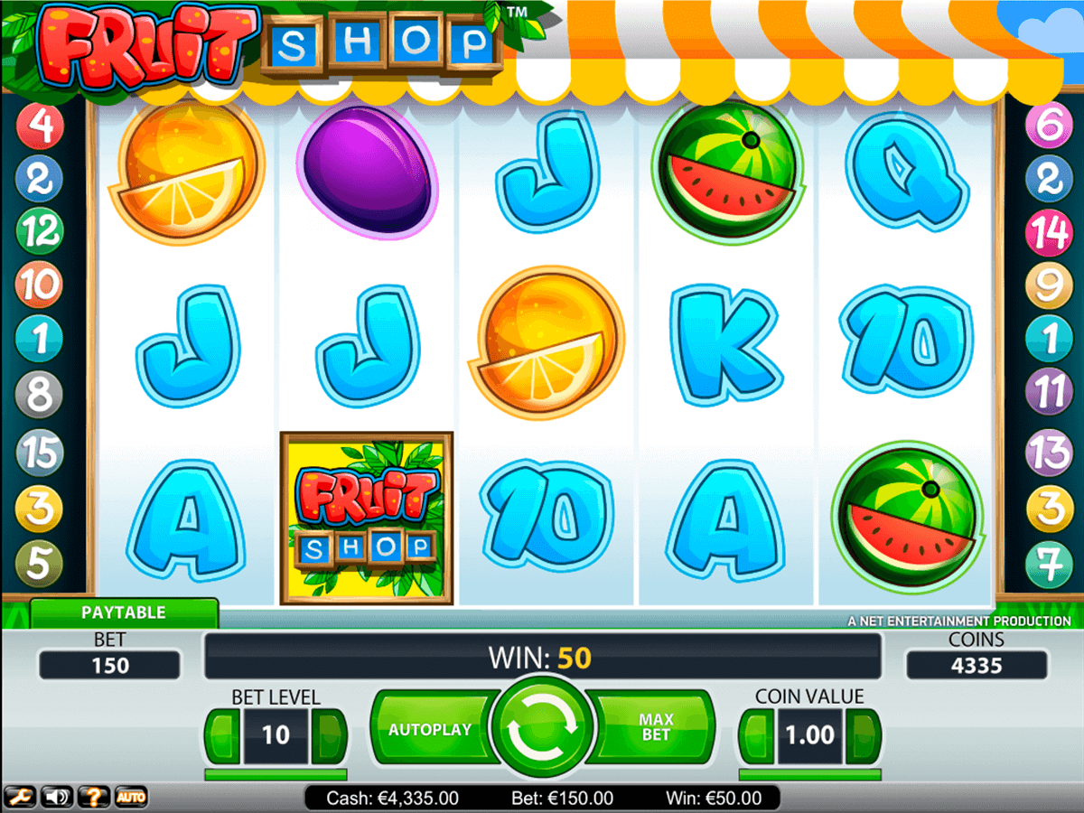 fruit shop netent casinospil online