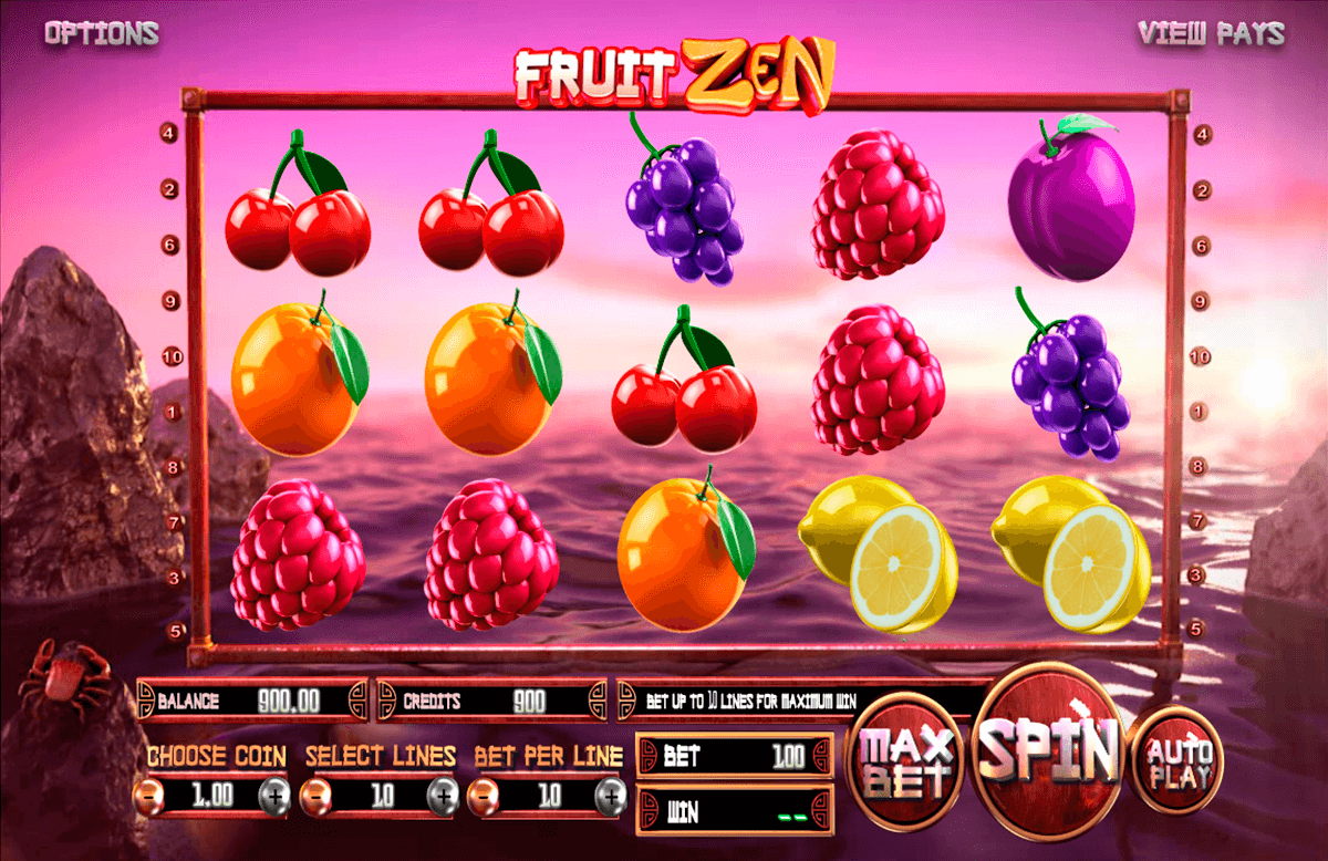 fruit zen betsoft casinospil online