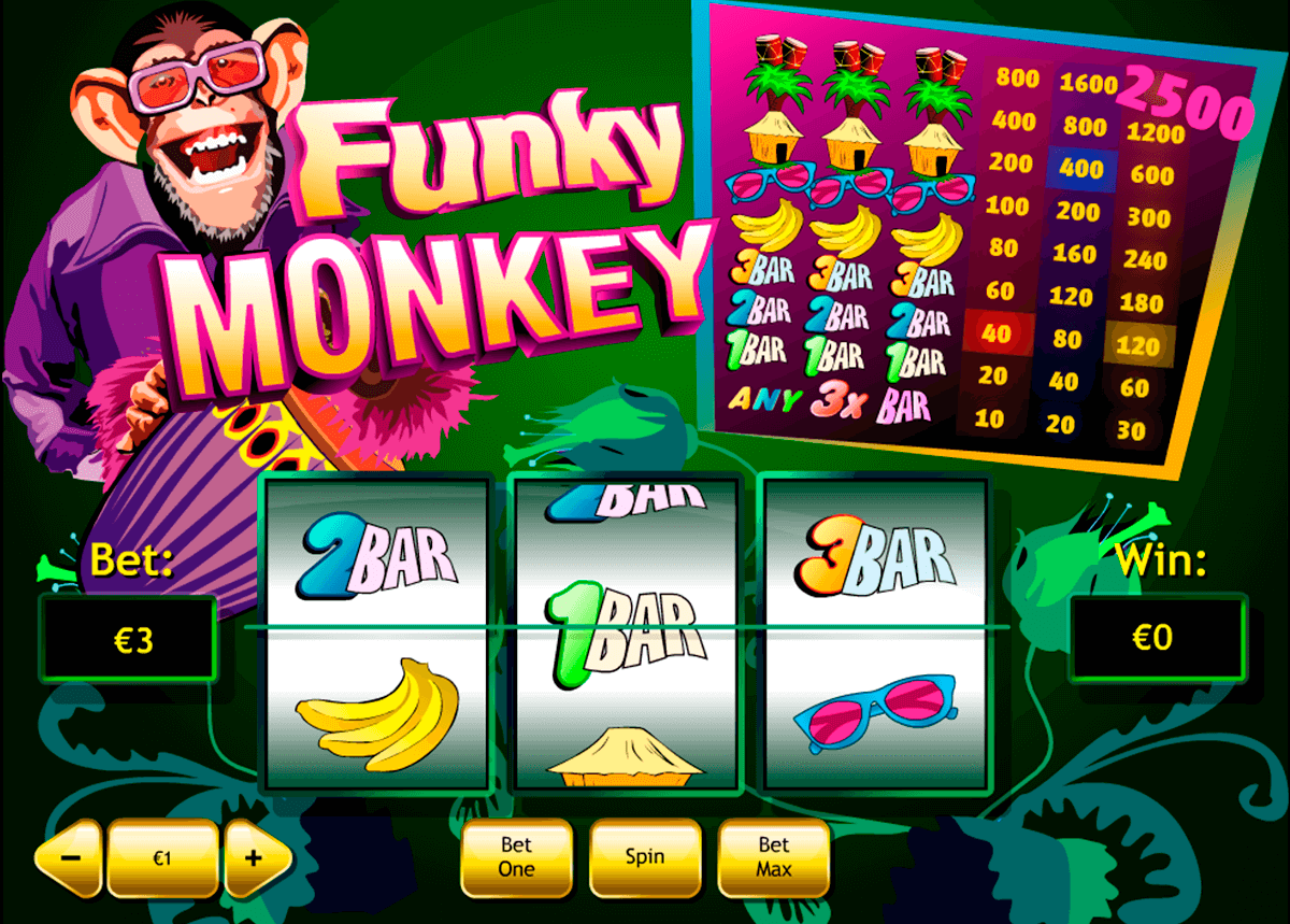 funky monkey playtech casinospil online