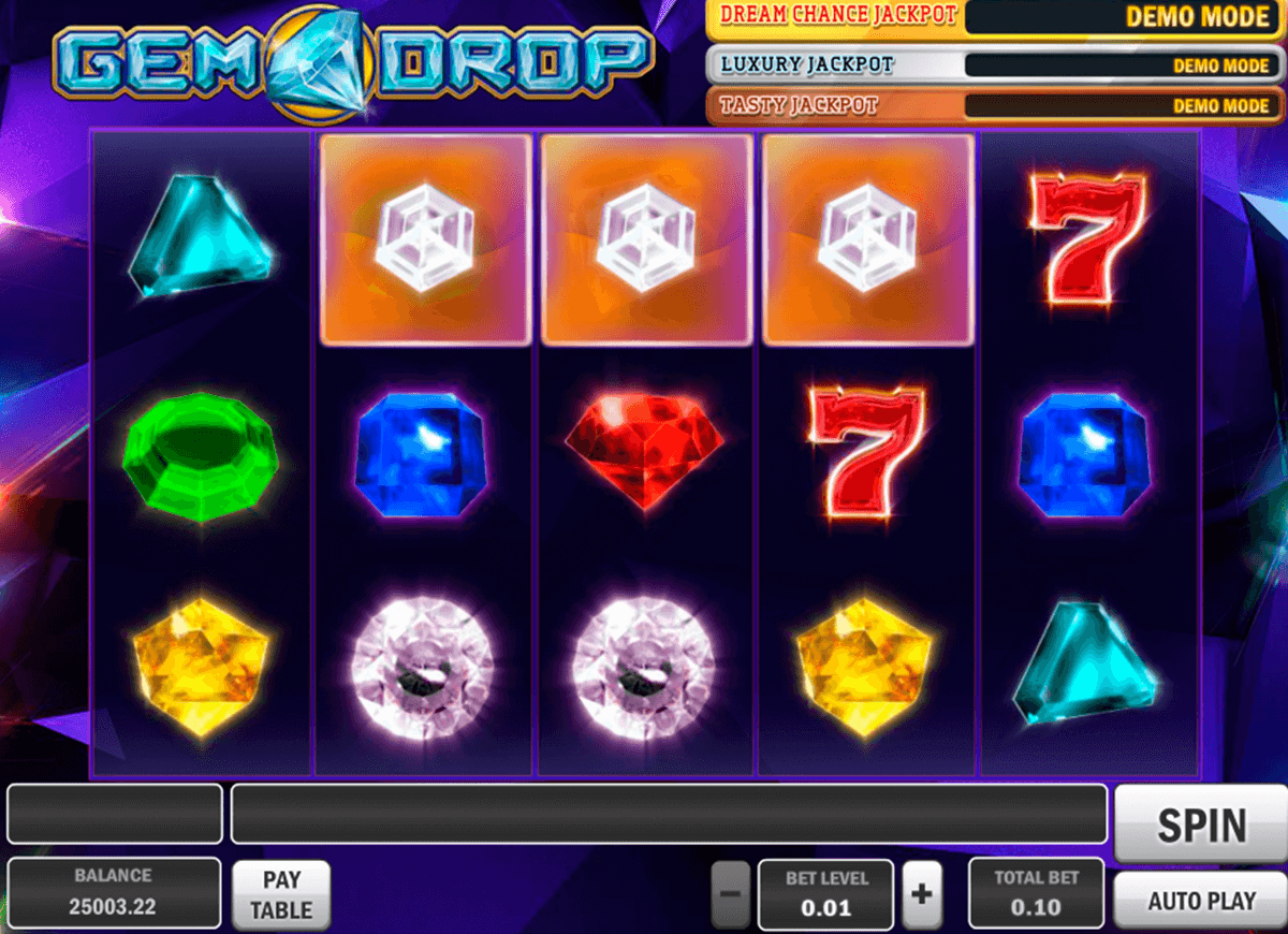 gem drop playn go casinospil online