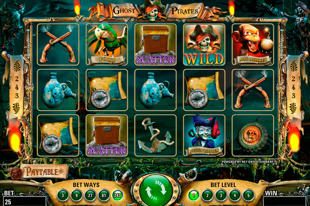 ghost pirates netent casinospil online